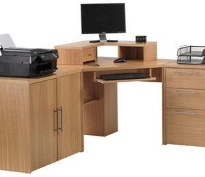 Woody Office Corner Combo