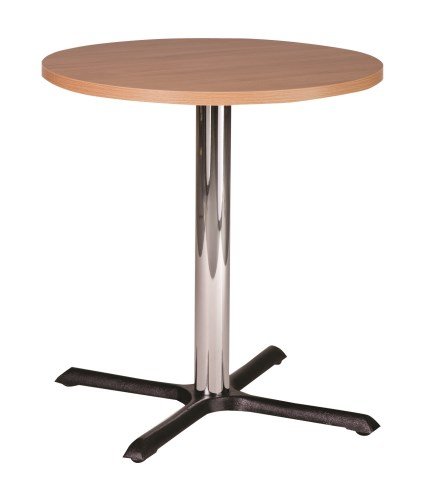 Elliot Cast Iron Small Dining Table Base With Tops In Various Sizes And Finishes