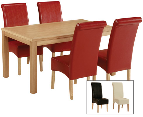 Padistow Dining Chair - Faux Leather