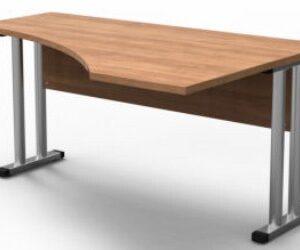 Pref Cantilever Wave Office Desk - 1500 Mm