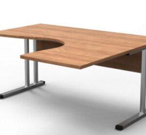 Pref Cantilever Radial Office Desk - 1600 Mm