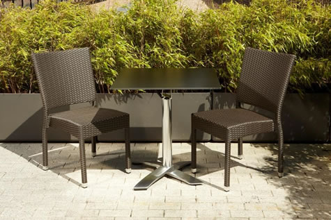 Pirer Outdoor Garden Patio Dining Table Set Includes Tables And 2 Chairs