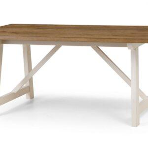 Hartford Large Rectangle Oak Wooden Dining Table
