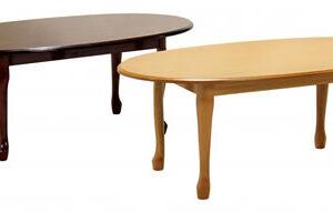 Queen Ann Coffee Table - Mahogony Or Golden Oak