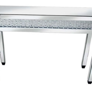 Rumba Sophisticated Mirror Glass Console Table