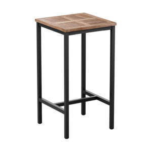 Madi Tall Garden Square Patio Teak Table