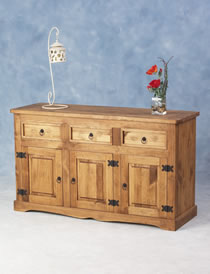 Salvador Three Door Sideboard