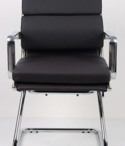 Sava Leather Cantilever Office Chair