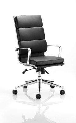 Sava Leather High Back Office Chair