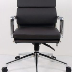Sava Leather Medium Back Office Chair