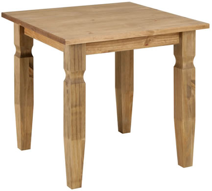 Dorset Traditional Pine 800Mm Square Table