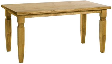 Dorset Traditional Pine 1500Mm Dining Table