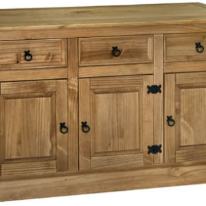 Sabino Antique Waxed Pine 3 Door