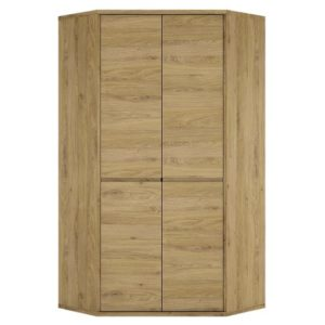 Tiamaria Glazed Wood 2 Door Cupboard