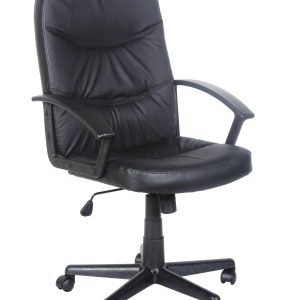 Snat Leather Faced Office Chair