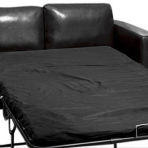 Frieda Quality Black Leather Sofa Three 3 Seater Sofabed With Choice Of Colours Quick Delivery