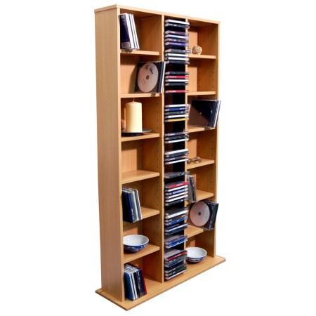 Saint Storage Shelf Tower Unit - Mahogany