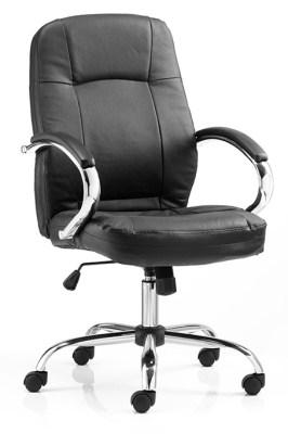 Amat Leather Office Chair Medium Back
