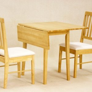 Sass Drop Leaf Oak Table And 2 Chairs