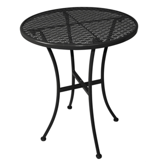 Santa Steel Round Bistro Table - Indoors/Outdoors - Choice Of Colours