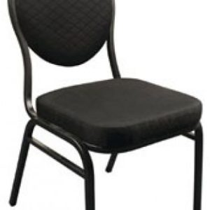 Brelone Set Of 4 Oval Banqueting Chairs Black