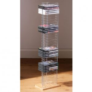 Free Standing DVD Storage Rack