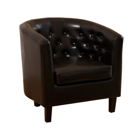 Holly Leather Tub Chair In Choice Of Colours