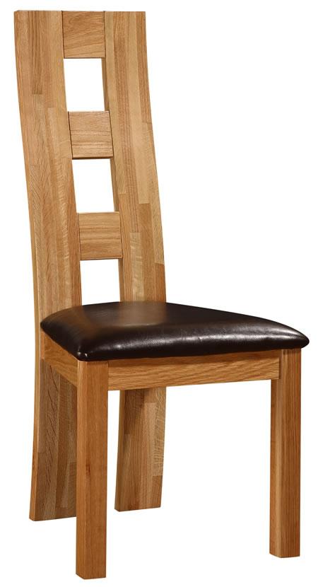 Westy High Back Designer Look Kitchen Dining Chair