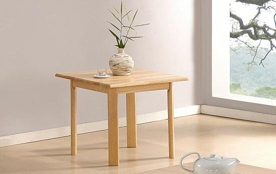 Yasmin Wood Lamp Table