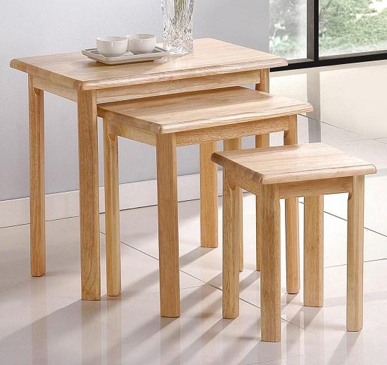 Yasmin Wood Nest Of Tables