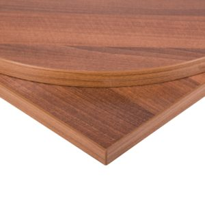 Taybon Melamine Table Top - Walnut