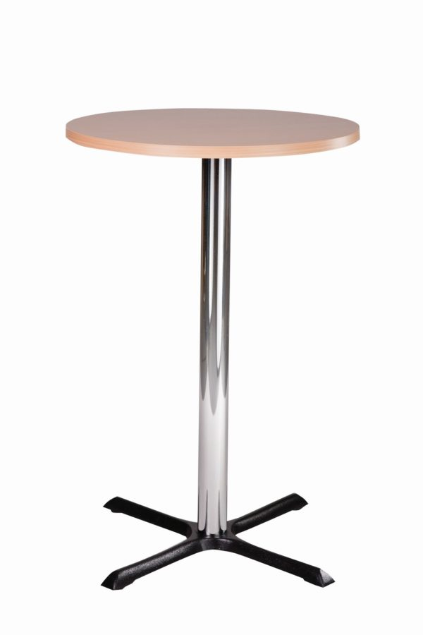 Elliot Chrome Dining Base And Round Top