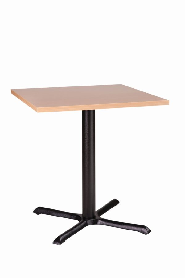 Elliot Black Dining Base And Square Top