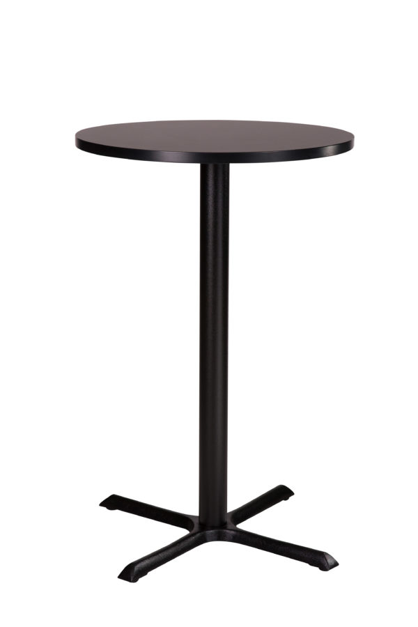 Elliot Black Dining Base And Round Sm France Top
