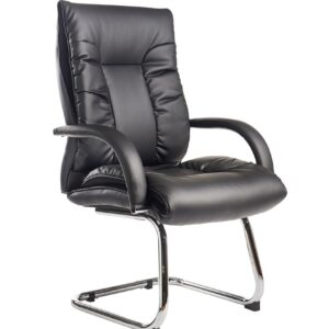 Derba Faux Leather Cantilever Office Visitor Chair