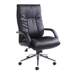 Derba Faux Leather Swivel Office Chair