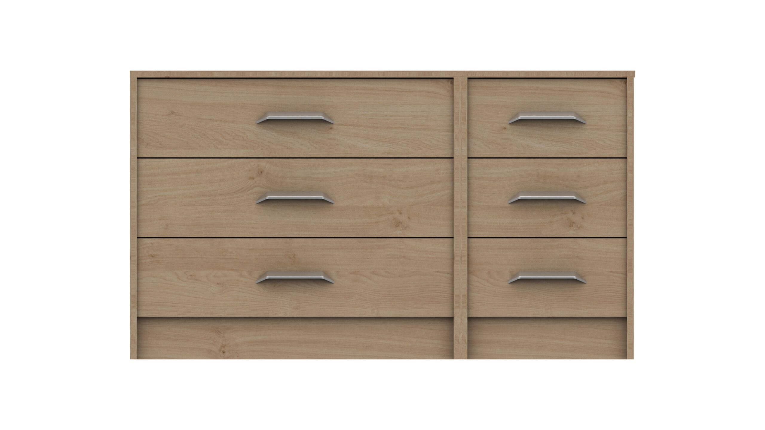 Marianne 3 Drawer Double Chest - Oak