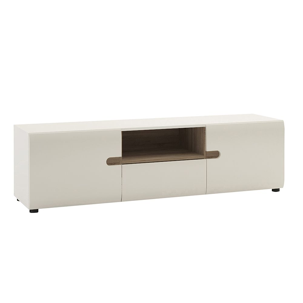 Seals Wide TV unit with opening