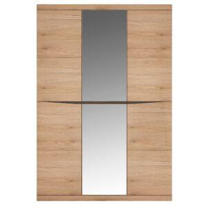Kira 3 Door Wardrobe with Centre Mirror door