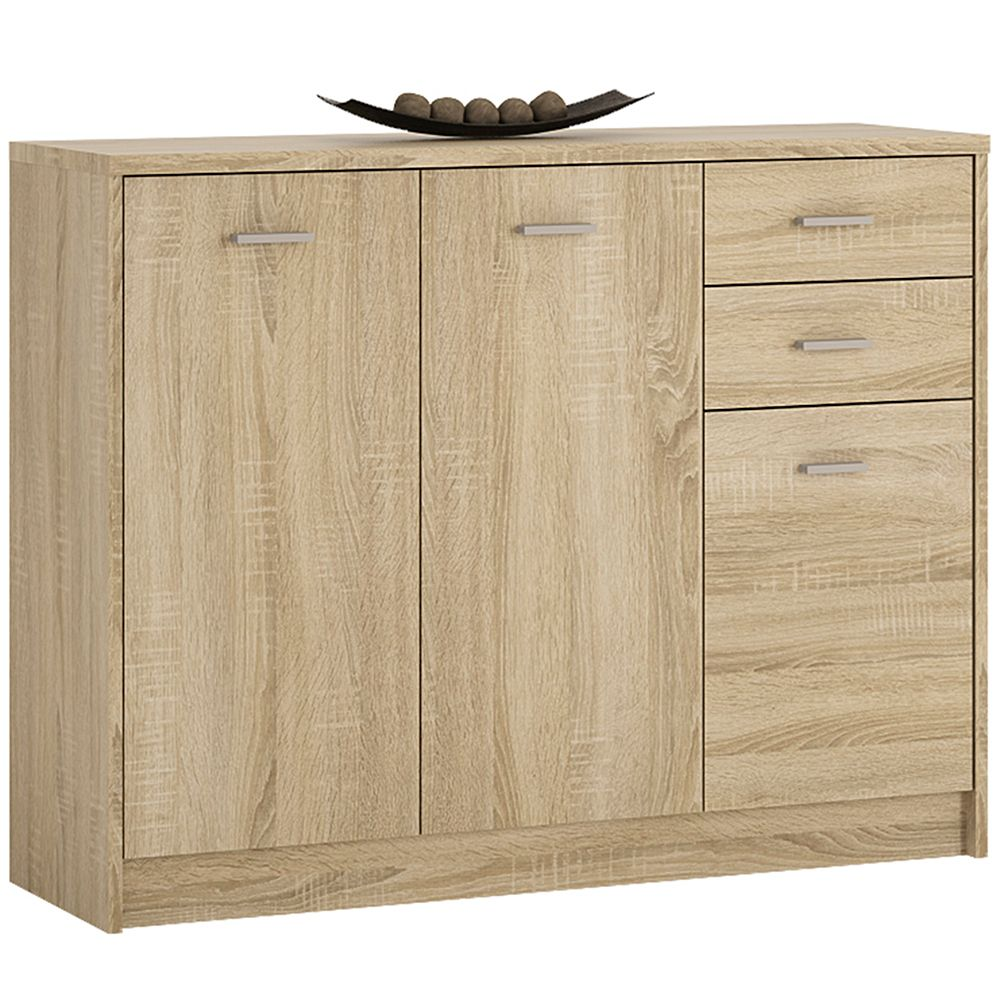 Yours 3 Door 2 Drawer Wide cabinet