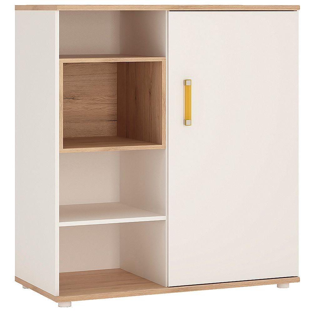 Kiddie Low Cabinet with shelves (Sliding Door)