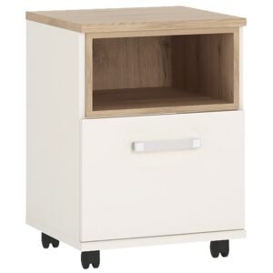 Kiddie 1 door desk mobile with opalino handles