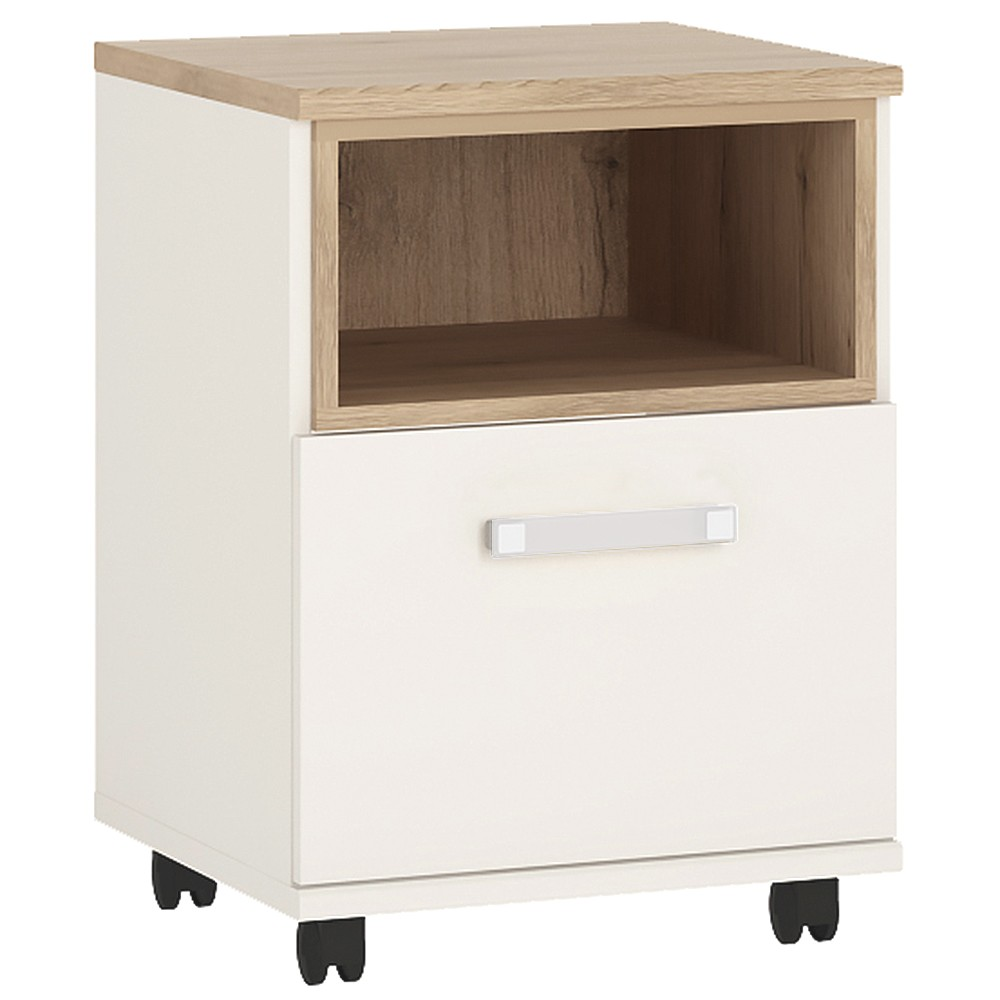 Kiddie 1 bedside table with opalino handles