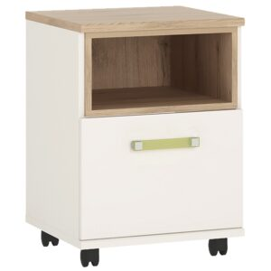 Kiddie 1 bedside table with lemon handles
