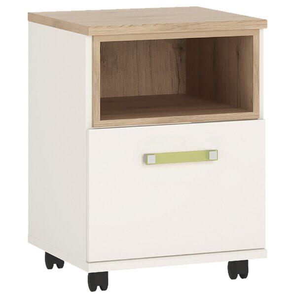 Kiddie 1 door desk mobile with lemon handles