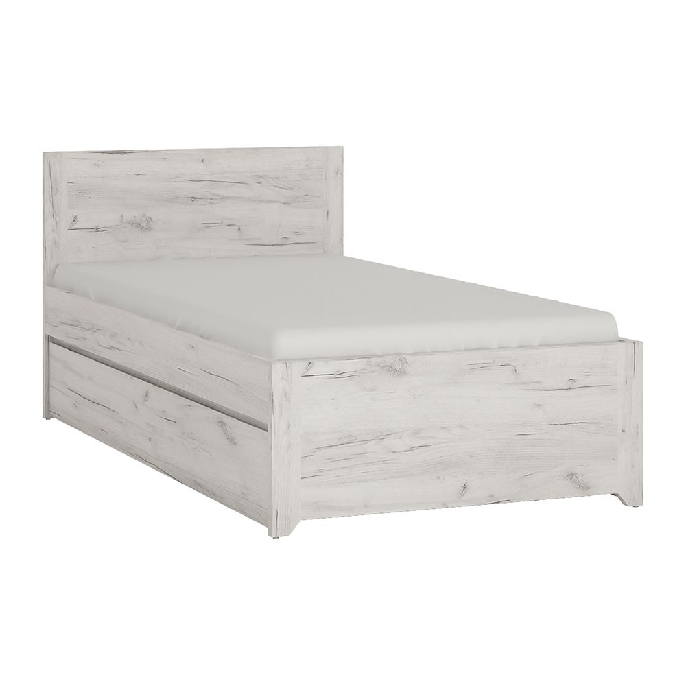 Feather Single Bed with underbed Drawer (Inc Slats)