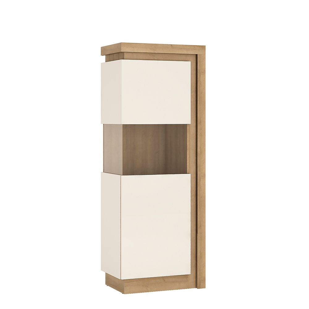 Lion White Narrow display cabinet (LHD) 164