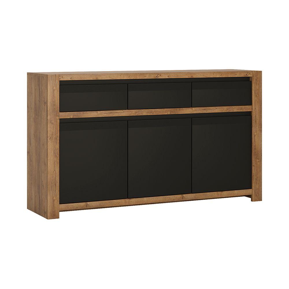 Savana 3 door 3 drawer sideboard