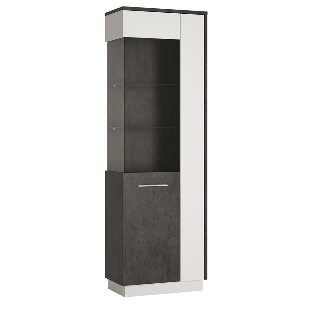 Gerzing Tall Glazed display cabinet (LH)