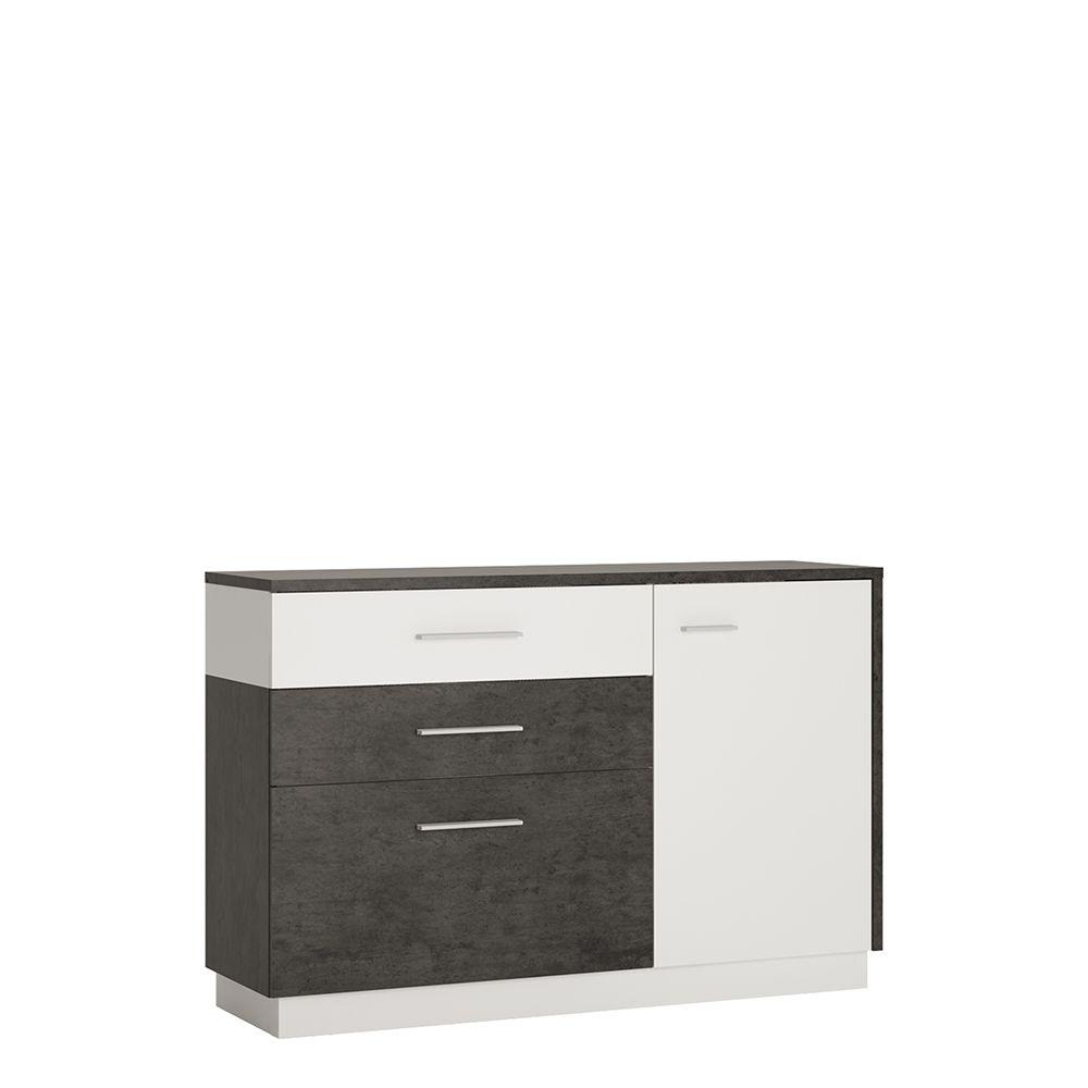 Gerzing 1 door 2 drawer 1 compartment sideboard